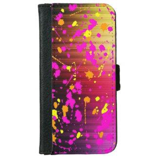 Bold Paint Splash iPhone 6 Wallet Case
