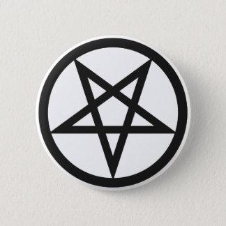 Bold Pentagram 2 Inch Round Button