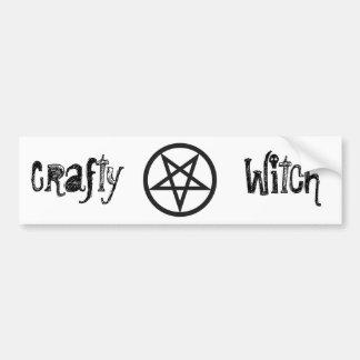 Bold Pentagram Bumper Sticker