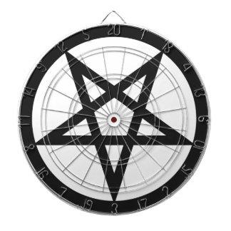 Bold Pentagram Dartboard