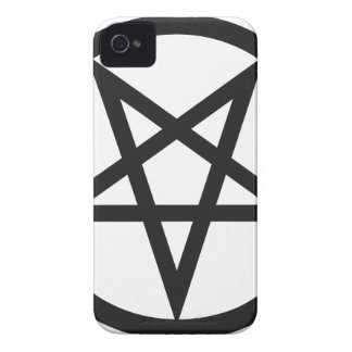Bold Pentagram iPhone 4 Cases