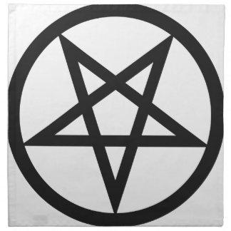 Bold Pentagram Napkin