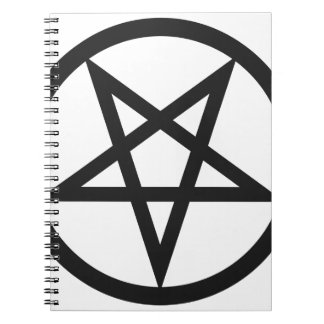 Bold Pentagram Notebook