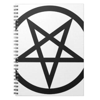 Bold Pentagram Notebooks
