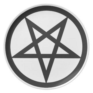 Bold Pentagram Plate