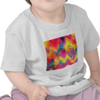 Bold Quotation in Neons 2 Rainbow Chevron Ikat Shirt