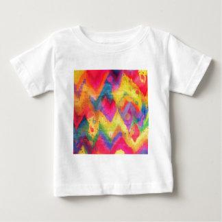 Bold Quotation in Neons 2, Rainbow Chevron Ikat T Shirt