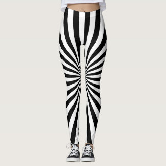 Bold Rays Leggings