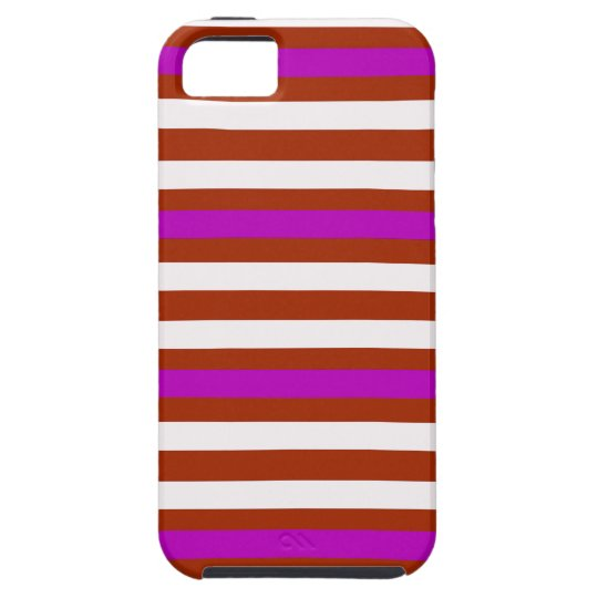 Bold Red Purple Case For The iPhone 5