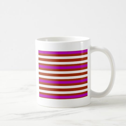 Bold Red Purple Coffee Mug