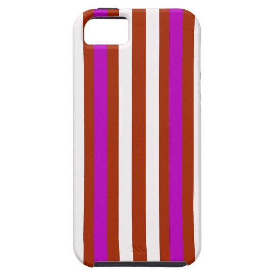 Bold Red Purple iPhone 5 Case
