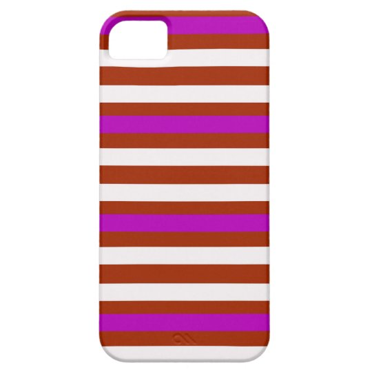 Bold Red Purple iPhone 5 Cases