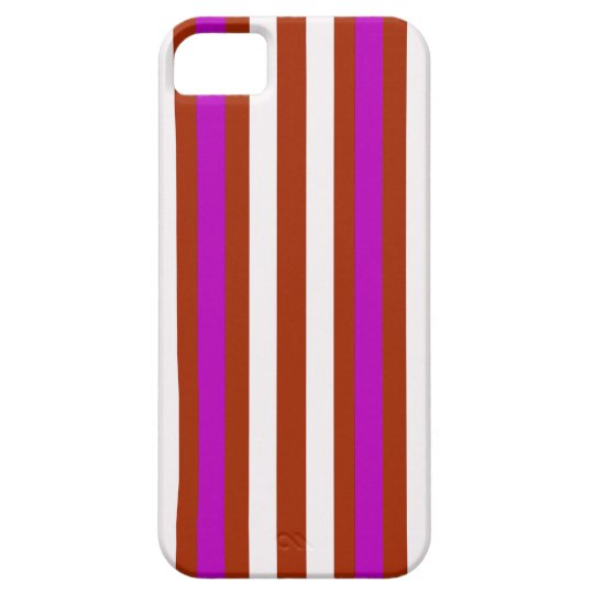 Bold Red Purple iPhone 5 Covers