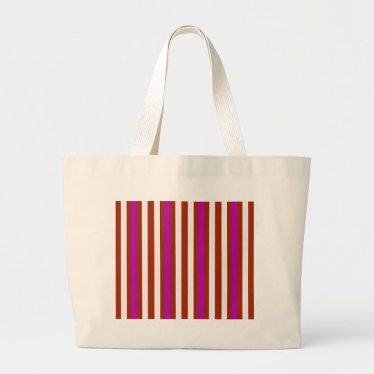 Bold Red Purple Large Tote Bag