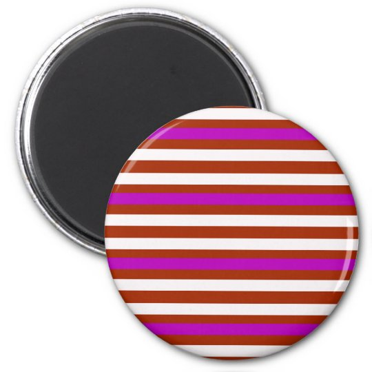 Bold Red Purple Magnet