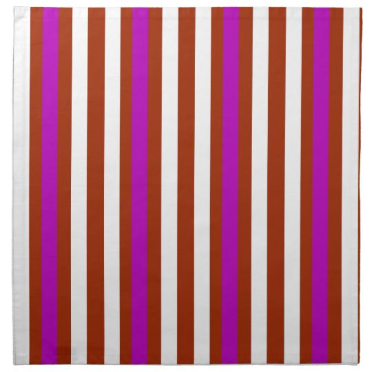 Bold Red Purple Napkin