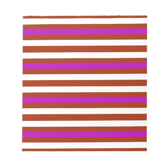 Bold Red Purple Notepad