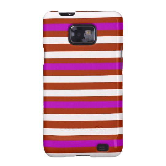 Bold Red Purple Samsung Galaxy S2 Covers