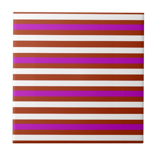 Bold Red Purple Tile