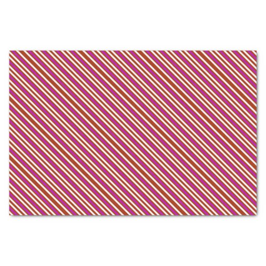 Bold Red Purple Tissue Paper