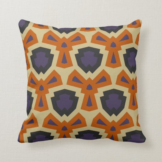 Bold retro pillow
