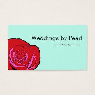 Bold Rose Customizable Business Card