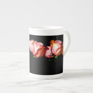 Bold Roses Bone China Mug