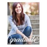 BOLD SCRIPT 2 | GRADUATION INVITATION POST CARDS