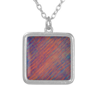 Bold Serenity Silver Plated Necklace