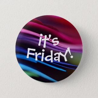 Bold Splashy Its Friday Button