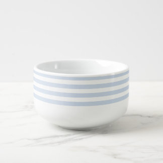 Bold Stripe blueberry soup mug