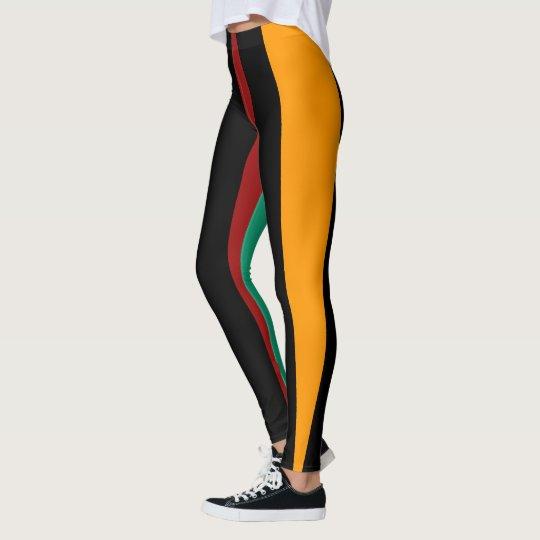 Bold Stripe Leggings