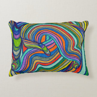 Bold Stripes Decorative Pillow