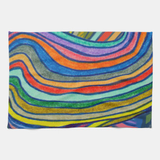 Bold Stripes Kitchen Towel