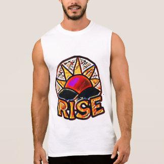 Bold Sun Rise ~ Uplifting Message Graphic Sleeveless Shirt