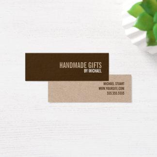 Bold Text Kraft Paper Handmade Gifts Tag
