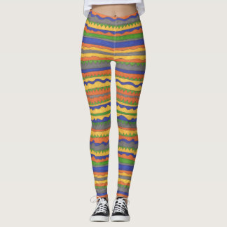 Bold Tribal Pattern Leggings