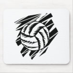 bold volleyball graphic