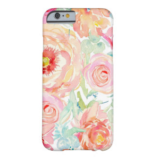 Bold Watercolor Floral iPhone 6/6s Phone Case