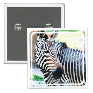 Bold Zebra Pin