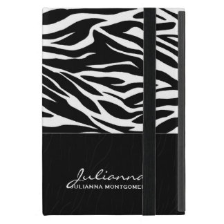 Bold Zebra Print Custom iPad Mini Case