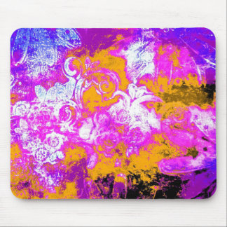 Boldly floral mouse mat mouse pad