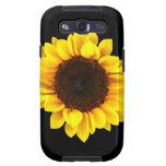 Boldly Sunny Sunflower Galaxy SIII Case