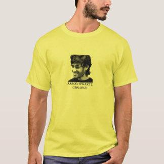 BoldProgressives.org -- Aaron Swartz T-Shirt