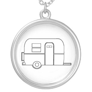 Boler necklace - round