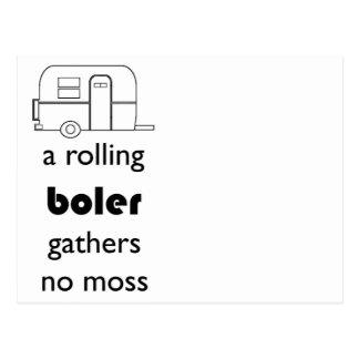 Boler postcard