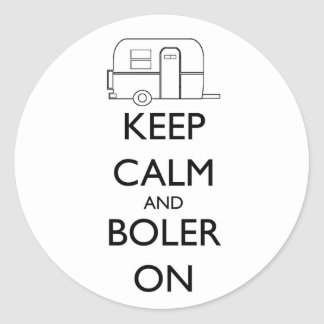 Boler sticker - Keep Calm and Boler On