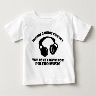 Bolero Music designs T Shirts