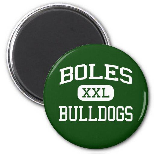 Boles - Bulldogs - Junior - Arlington Texas Fridge Magnet