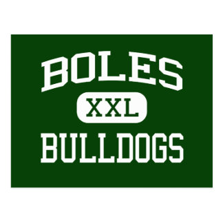 Boles - Bulldogs - Junior - Arlington Texas Postcard